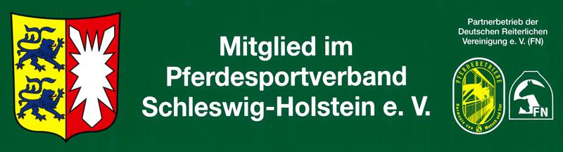 Mitglied im Pferdesportverband Schleswig-Holstein